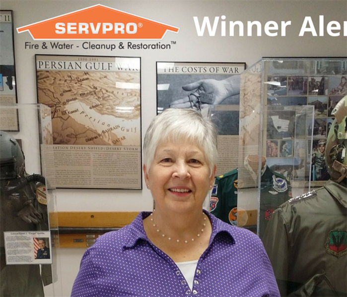 SERVPRO Senior Word Search Winner - January