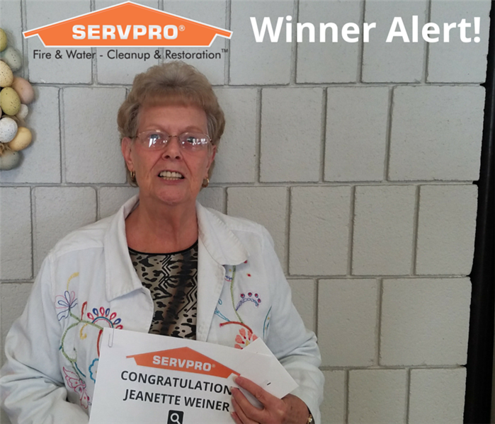 SERVPRO Senior Word Search Winner - February