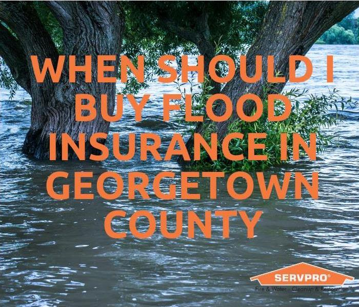 Water Damage When Should I Buy Flood Insurance In Georgetown County