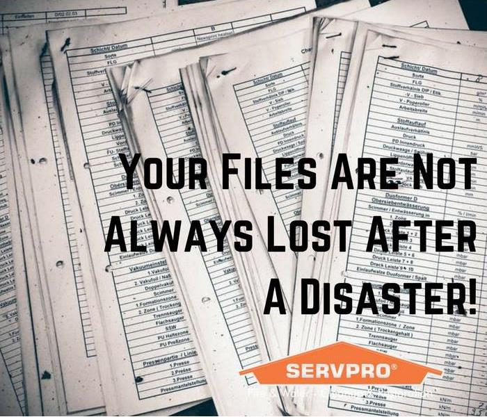 Cleaning Georgetown Co Fires & Floods Can Ruin Your Documents