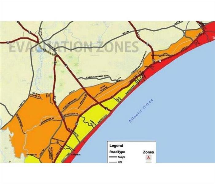 Community Hurricane Evacuation Zone Information Georgetown County